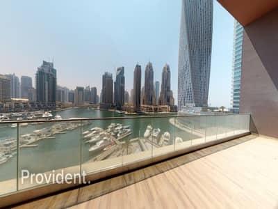 فیلا 4 غرف نوم للايجار في دبي مارينا، دبي - Sophisticated 4 B/R Duplex Villa|Full Marina View