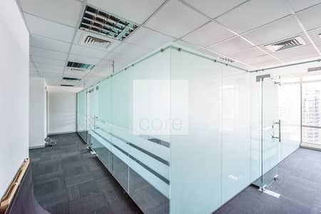 Office for Rent in Jumeirah Lake Towers (JLT), Dubai - Fitted Office | Prime Location | High Floor