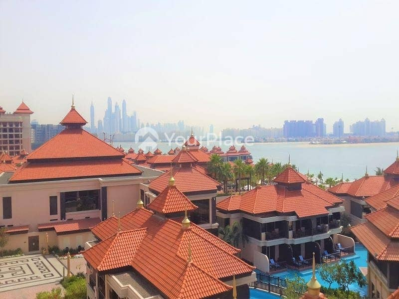 2 Deluxe Terrace - Sea and Palm Jumeirah View