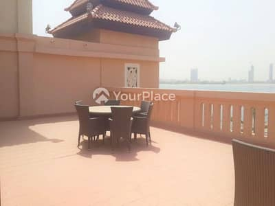 Deluxe Terrace - Sea and Palm Jumeirah View
