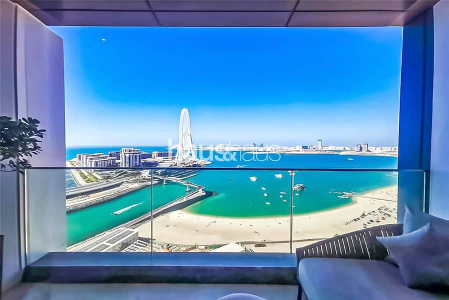 2 Incredible Views over Jumeirah Beach and the Palm