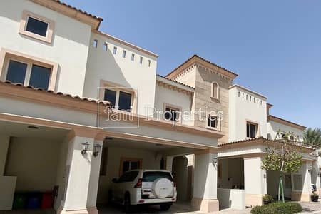 3 Bedroom Townhouse for Sale in Jumeirah Golf Estate, Dubai - Impressive 3 BR + Maids with Pool and Golf Views