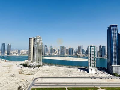 2 Bedroom Flat for Rent in Al Mamzar, Sharjah - Sea View | Brand New 2BHK | A/C + Parking Free