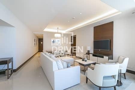 فلیٹ 3 غرف نوم للايجار في وسط مدينة دبي، دبي - Unique Burj View-3BR Sky View-Rare Unit
