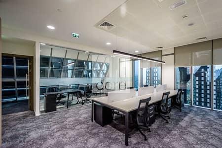 مکتب  للايجار في مركز دبي المالي العالمي، دبي - Mid Floor | Fitted and Furnished Office