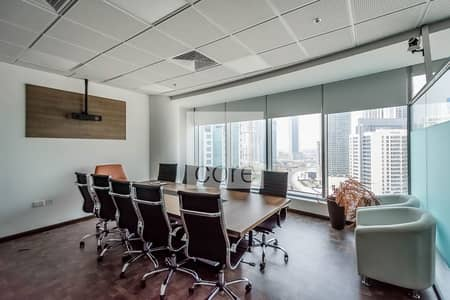 Office for Rent in Business Bay, Dubai - Fitted Office | Mid Floor | Parking | DED