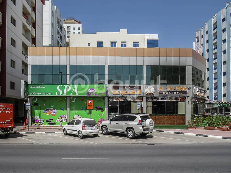 For rent large showroom in very good Place in nuaimiah Kuwait street