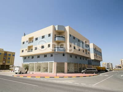 1 Bedroom Flat for Rent in Al Jurf, Ajman - 1 BEDROOM HALL IN NEW BUILLDING IN JARRF AREA NEARBY MOHAMMAD BIN ZAYED ROAD EXEMPT FROM SEWERAGE FEES
