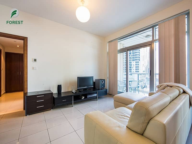 2 Fully Furnished 1 BR with Marina View | Vacant