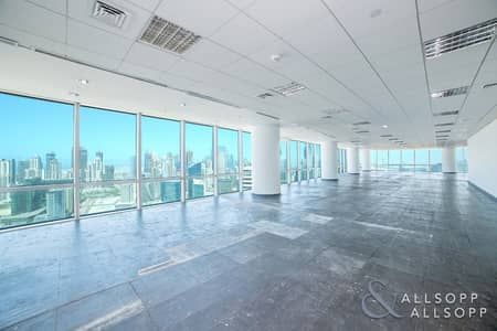 Office for Rent in Business Bay, Dubai - Fitted Office | Whole Floor | Panoramic View