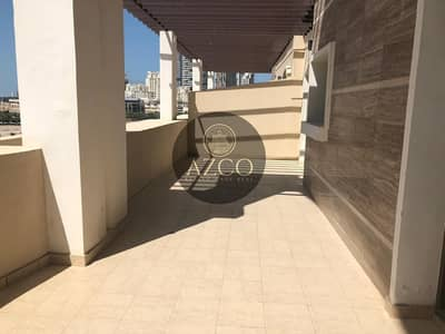 2 Bedroom Apartment for Rent in Jumeirah Village Circle (JVC), Dubai - Top Floor 2BHK Close Kitchen with Massive Terrace