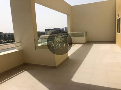 2 Bedroom Penthouse for Rent in Jumeirah Village Circle (JVC), Dubai - Amazing 02 Terrace: 2BR Panthouse Both Master Bedrooms Private Access