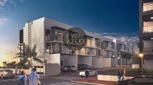 تاون هاوس 4 غرف نوم للبيع في قرية جميرا الدائرية، دبي - CAPTURES YOUR HEART IN A SECOND | BRAND NEW CORNER W/POOL | HUGE ROOMS | CALL NOW