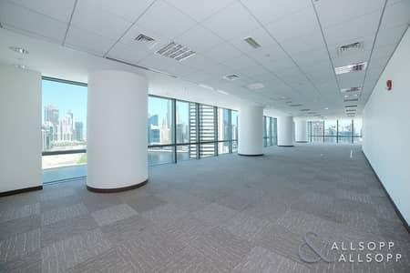 مکتب  للايجار في الخليج التجاري، دبي - Fitted Office | Whole Floor | Landmark Views