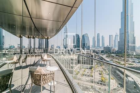 شقة فندقية 3 غرف نوم للايجار في وسط مدينة دبي، دبي - Furnished 3 Bedroom Apt | Panoramic View