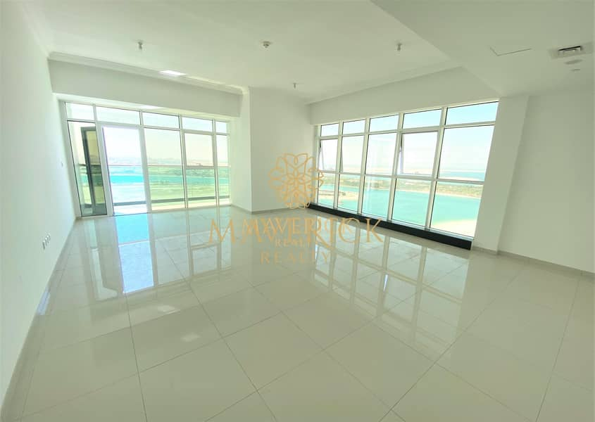 2 Breathtaking Sea View 3BHK | Chiller + 2 Parkings Free