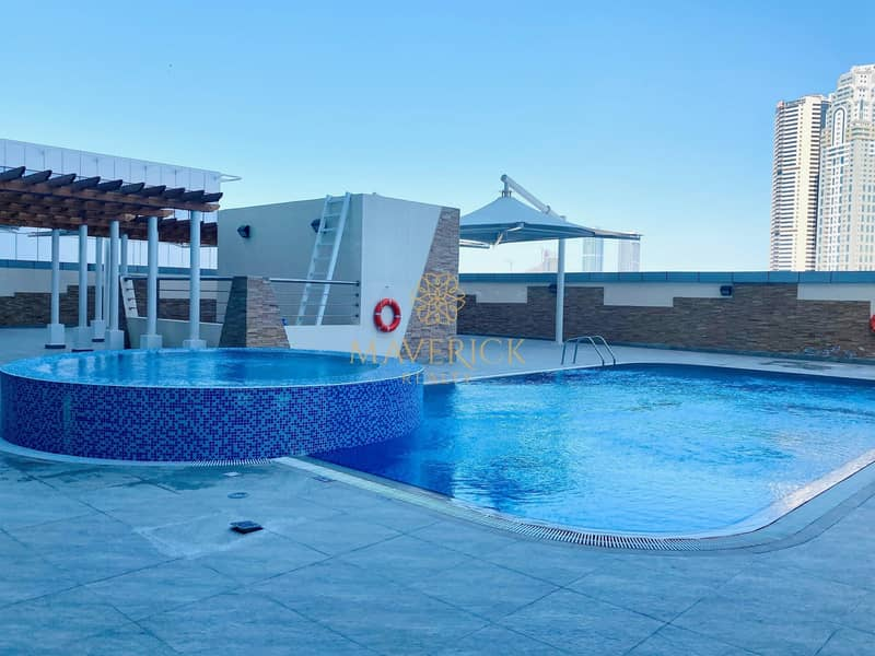 16 Breathtaking Sea View 3BHK | Chiller + 2 Parkings Free