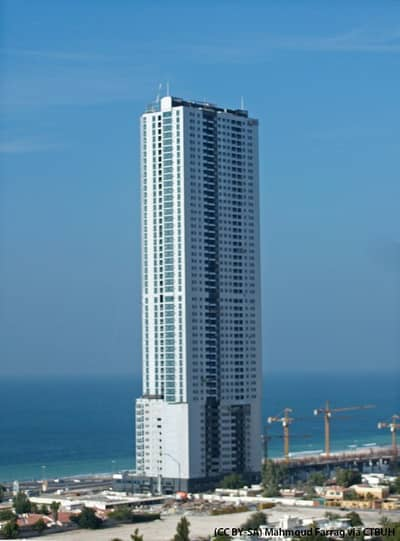 2 Bedroom Flat for Sale in Corniche Ajman, Ajman - FULLY SEA VIEW 2BED HALL CORNICHE TOWER FOR SALE