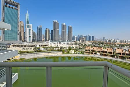 3 Bedroom Flat for Rent in Jumeirah Heights, Dubai - Lake and Skyline View| Fully Furnished| Available