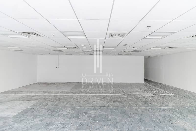 2 Semi-fitted bright office space in TECOM