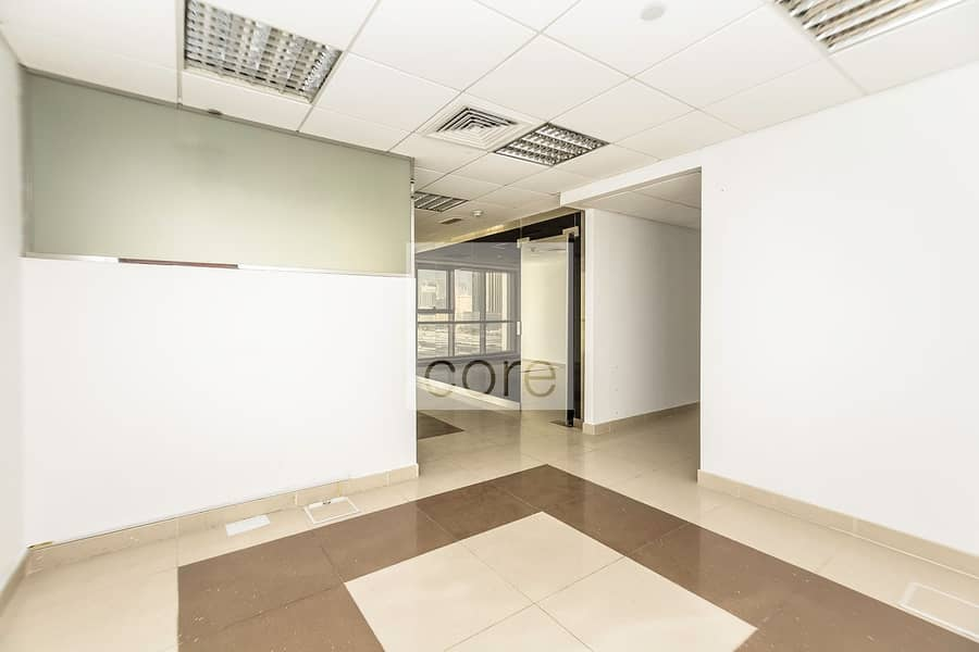 Well-lit fitted office | Goldcrest Exec.