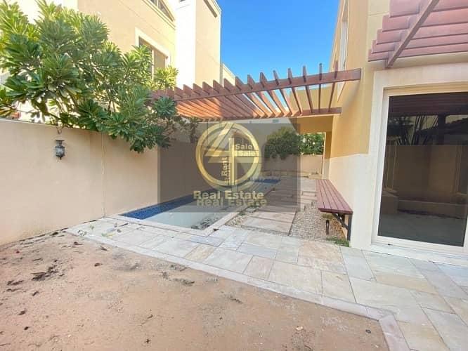 Enrapturing 4 BR +M Villa In Al Raha Garden