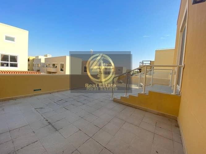 25 Enrapturing 4 BR +M Villa In Al Raha Garden