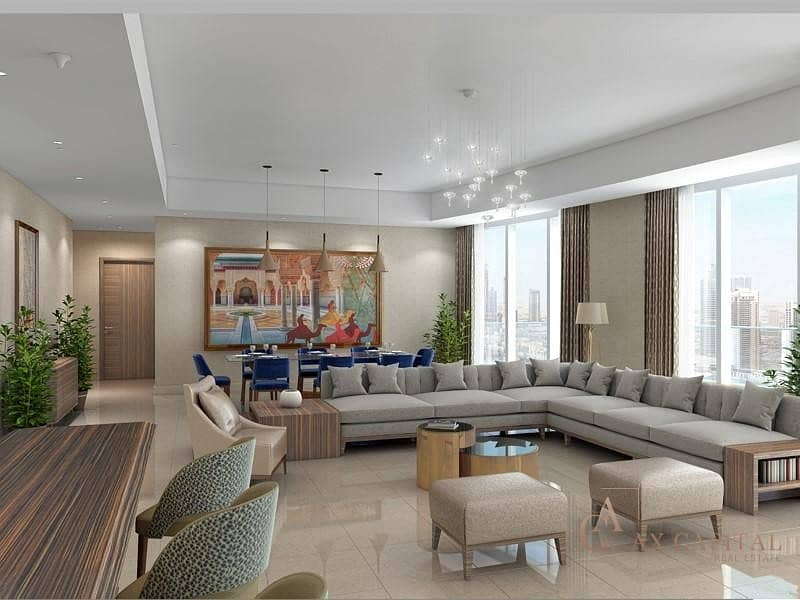 2 Burj Khalifa View I Close to Dubai Mall I 3 Bedroom Apartment