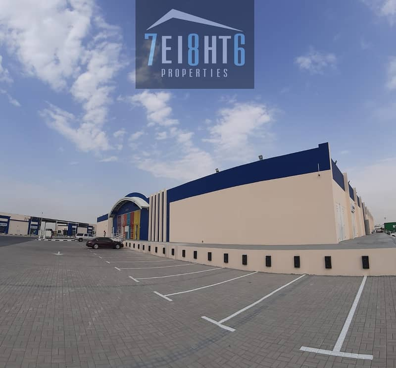 2 400 sq ft high quality  BRAND NEW whouse for storage + high ceilings for rent In Al Warsan 3