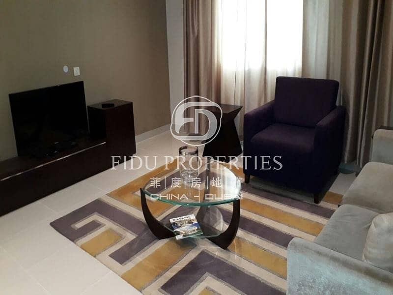 2 Fully Furnished | Large 1 bed  | High Floor