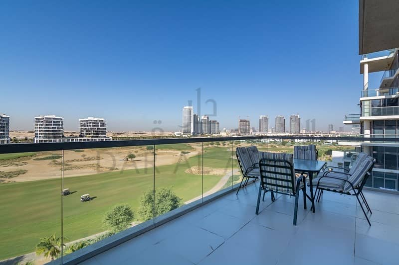 2 2BR Best Golf Course View | Fully Furnished | VOT
