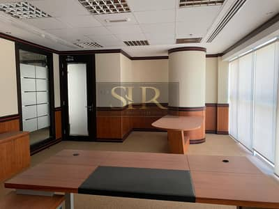 Office for Rent in Jumeirah Lake Towers (JLT), Dubai - Fitted Furnished Office For Rent With Balcony