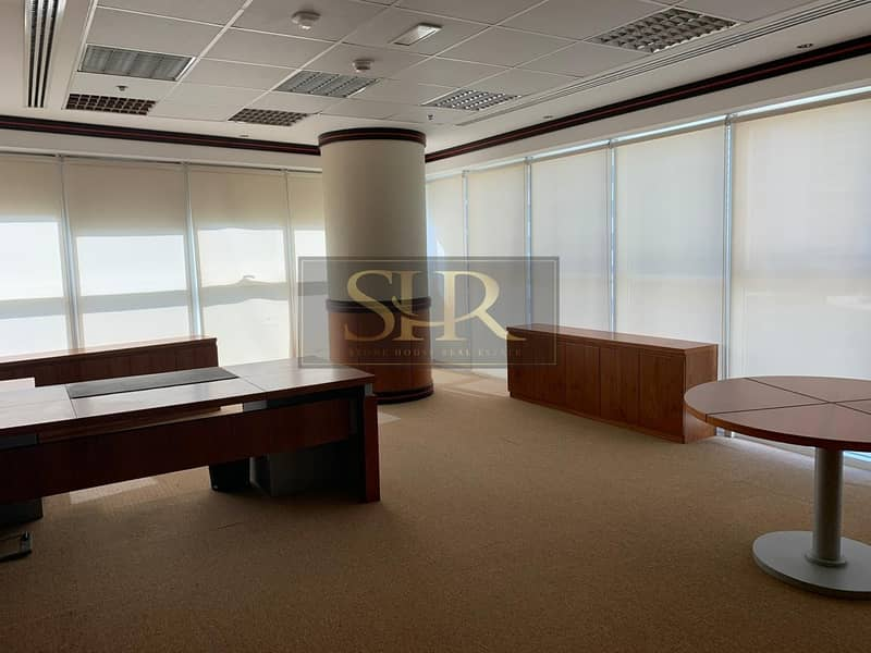 2 Fitted Furnished Office For Rent With Balcony