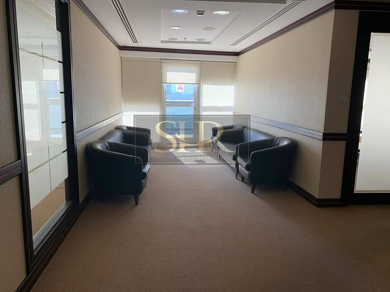 18 Fitted Furnished Office For Rent With Balcony