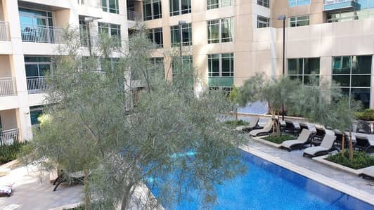 Studio for Rent in Downtown Dubai, Dubai - Vacant | Spacious | Full Pool View | Best Price