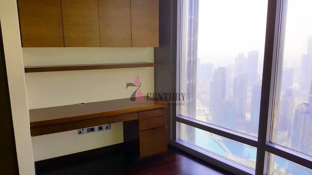 2 Stunning Fountain and Downtown view | 2BR+Study