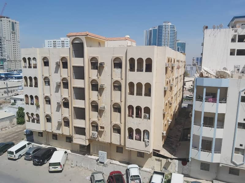 1 bedroom hall only 17000  close kitchen behind falcon towers ajman