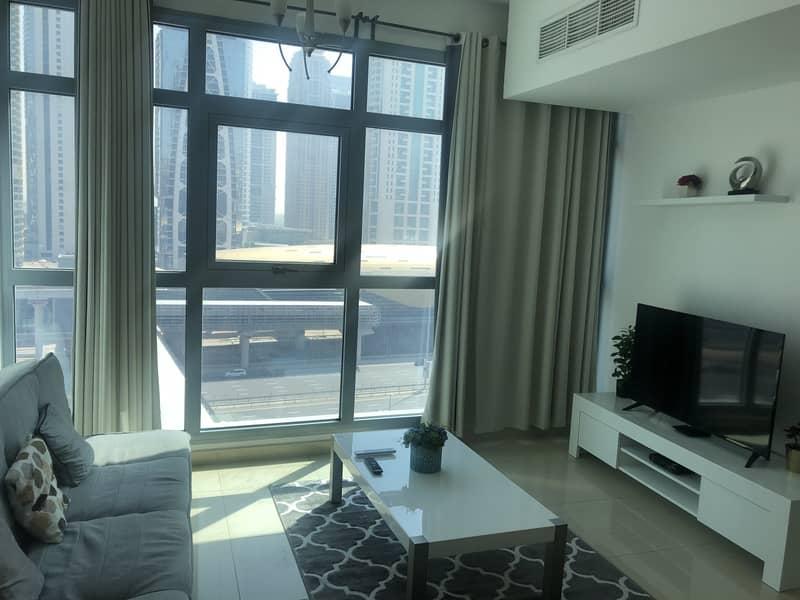 2 Next to Metro/Fantastic 1Bedroom Apartment/Marina Residence