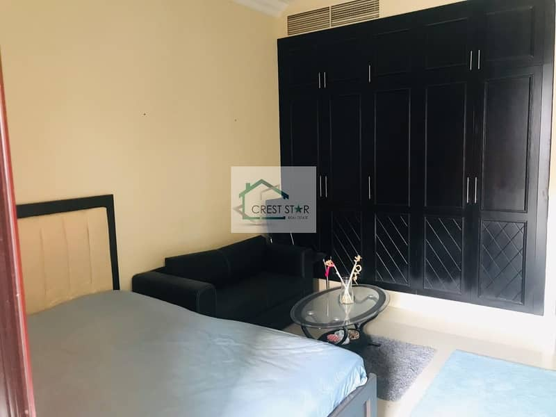 Prestigious Pool View Furnished Studio Apartment for Rent in JVC