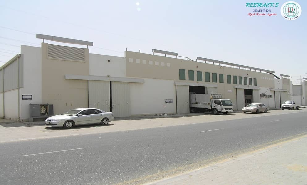 11 Dhs.16/- per Sqft  Warehouse in IND Area NO.18 Behind Economic Department with 1 month free