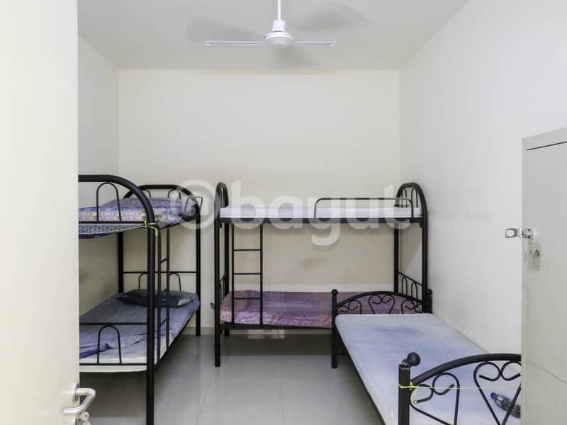 LABOR ACCOMMODATION ROOMS FOR RENT IN JABEL ALI