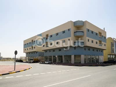 Shop for Rent in Al Jurf, Ajman - For rent commercial SHOP in Al-Jarf area behind the Chinese market in a new residential area