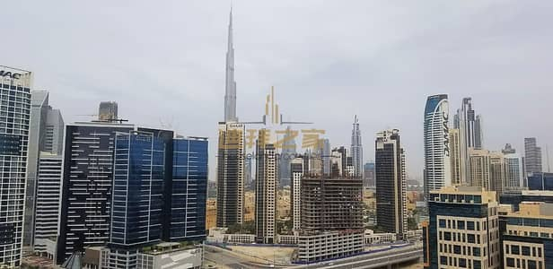 فلیٹ 2 غرفة نوم للايجار في الخليج التجاري، دبي - Spacious 2BHK With 2 Balconies Canal and Burj Khalifa View
