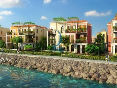 تاون هاوس 3 غرف نوم للبيع في جميرا، دبي - Seafront Townhouse community | Sur La Mer Save