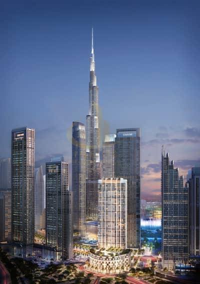 2 Bedroom Flat for Sale in Downtown Dubai, Dubai - Priceless views of Burj and Dubai Opera | Prestigious tower in Downtown - Offplan