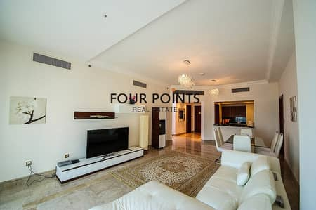 2 Bedroom Apartment for Rent in Palm Jumeirah, Dubai - Luxury 2BR+Maids Room in Fairmont South Palm Jumeirah