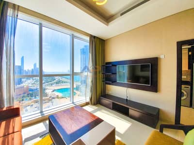 1 Bedroom Flat for Rent in Corniche Area, Abu Dhabi - Fully Furnished Luxury 1 Bed Apartment with Utilities