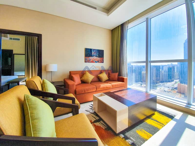 2 Fully Furnished Luxury 1 Bed Apartment with Utilities