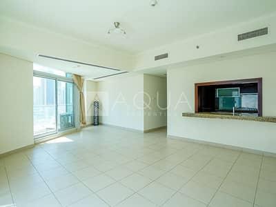 فلیٹ 1 غرفة نوم للايجار في وسط مدينة دبي، دبي - Bright   Spacious   Chiller Free   Low Floor
