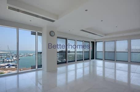 4 Bedroom Flat for Rent in Al Raha Beach, Abu Dhabi - Extravagant apartment facing sea in Al Manara